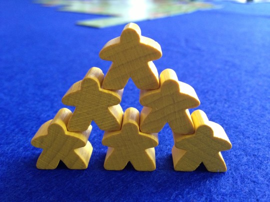 Carcassonne Meeple Acrobatics