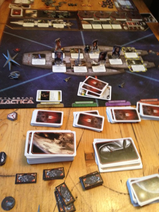 Battlestar Galactica Gameplay