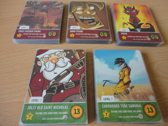 Penny Arcade Boss Cards