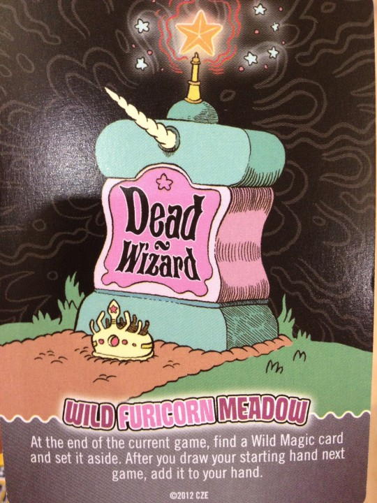Epic Spell Wars Dead Wizard Card