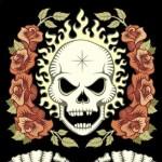 Skulll and Roses Box