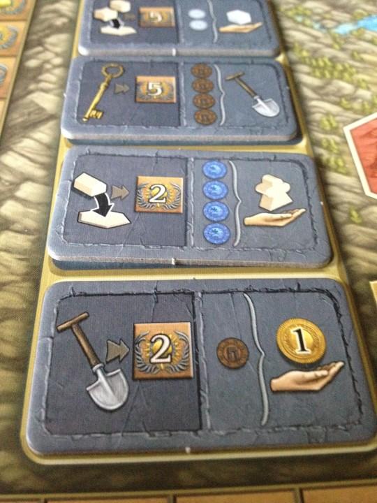 Terra Mystica Round Bonus Tiles