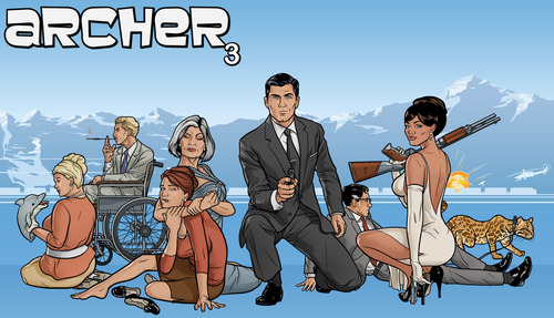 Archer Season 3 Promo Image
