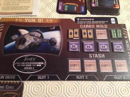 Firefly Ship Card