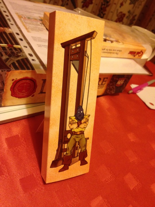 Guillotine Standee