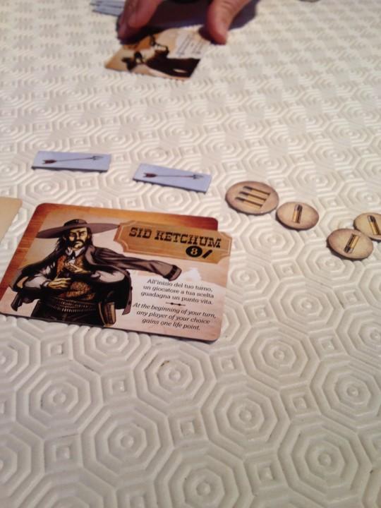 Bang Dice Game Character