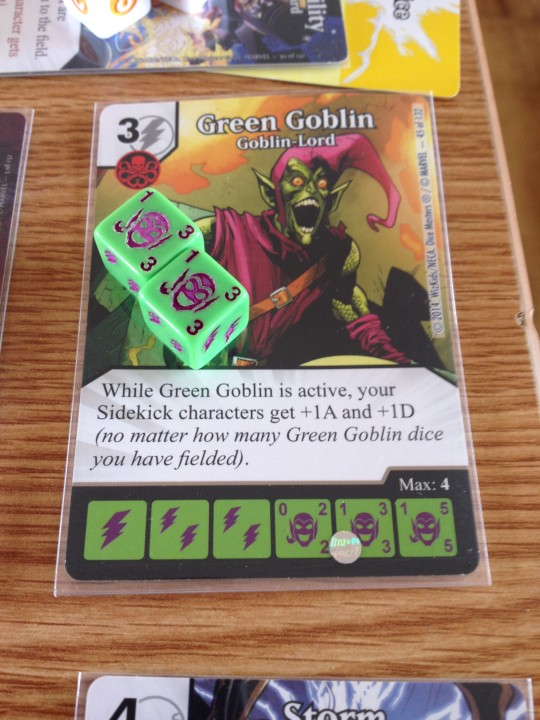 Marvel Dice Masters Green Goblin Goblin Lord