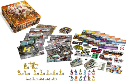Zombicide Rue Morge Contents