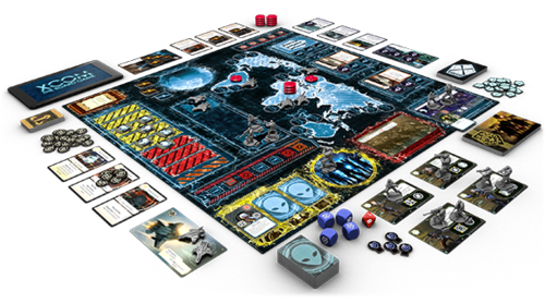 XCOM The Board Game Board