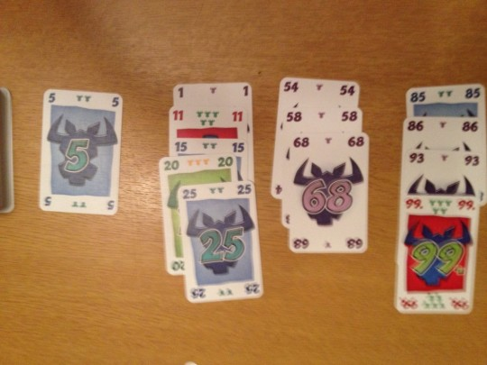 6 Nimmt Game Play