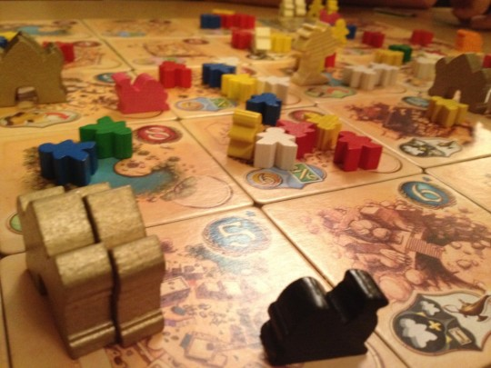 Five Tribes Board