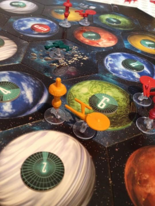 Star Trek Catan Board