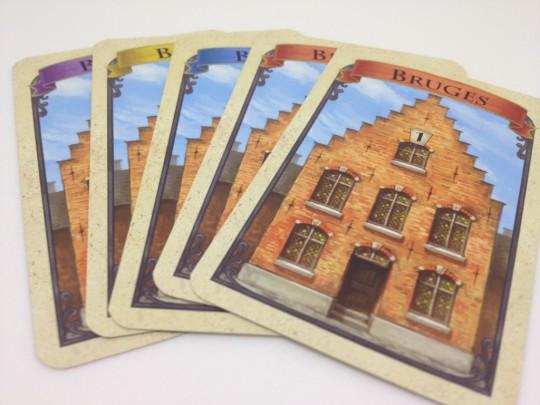 Bruges Hand of Cards