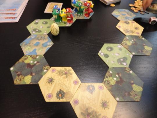 Dino Race Game Start