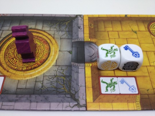 Escape the Curse of the Temple Movement Dice