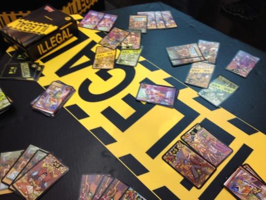 Illegal Cards