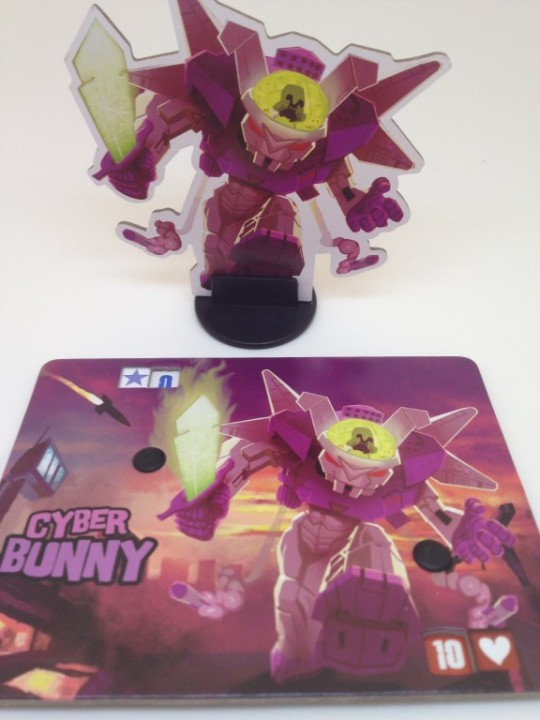 King of Tokyo Cyber Bunny