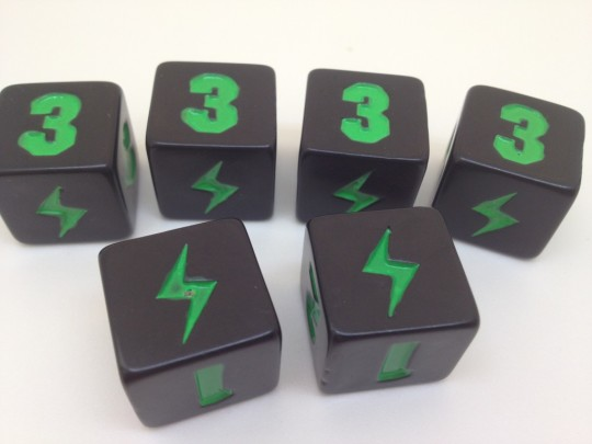 King of Tokyo Points Dice