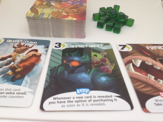 King of Tokyo Power Cards