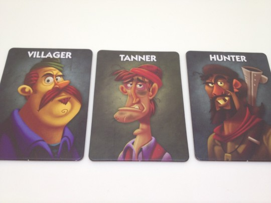 One Night Ultimate Werewolf Villiuger, Tanner and Hunter