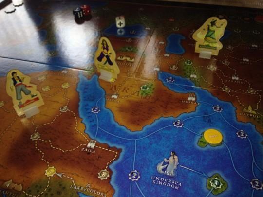 Tales of the Arabian Nights Board
