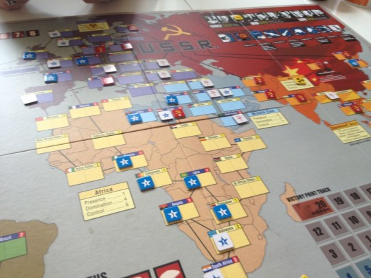 Twilight Struggle Board
