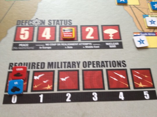 Twilight Struggle Defcon and Military