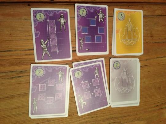 Blueprint Points Cards