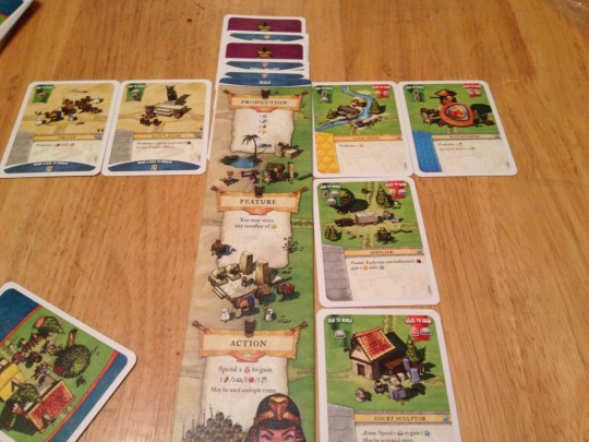 Imperial Settlers Player Area