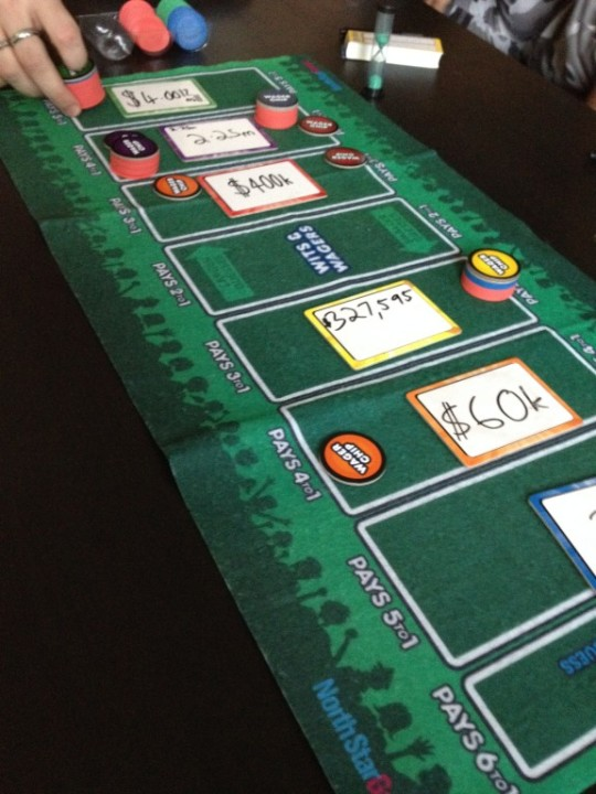 Wits & Wagers Game Play