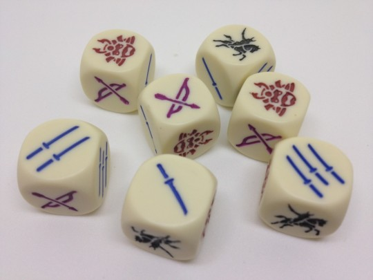 Age of War Dice