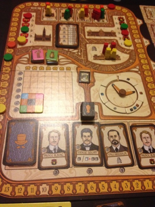Bruxelles 1893 Game Board