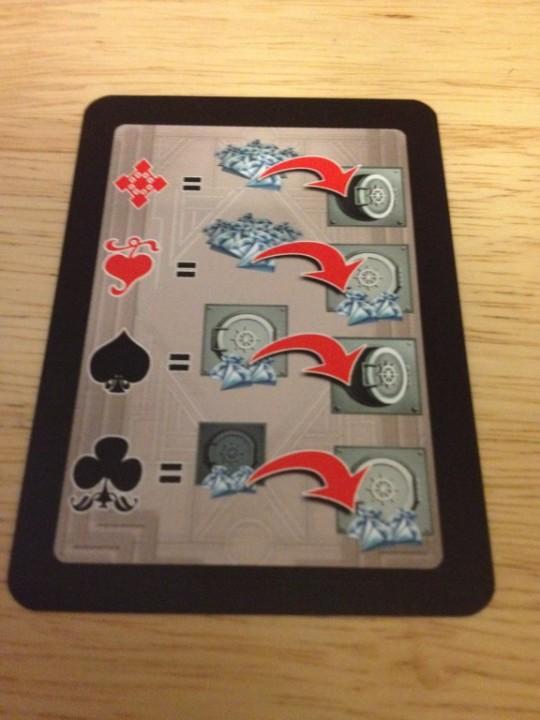 Diamonds Action Card