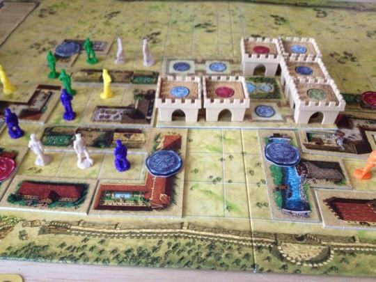 Die Baumeister von Arkadia Game Play