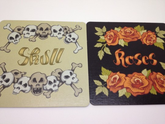 Scull & Roses Mats