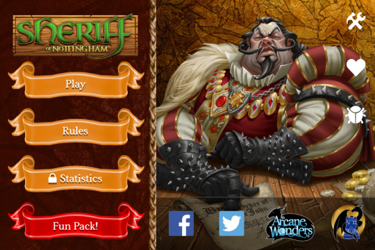 Sheriff of Nottingham App Screenshot