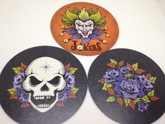 Skull & Roses Cards