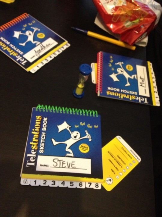 Telestrations Books