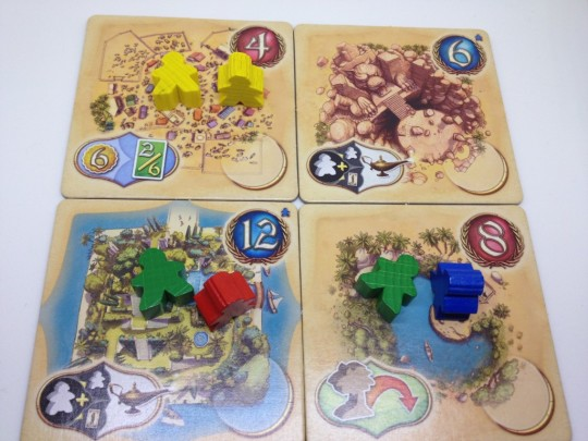 Five Tribes Meeple Movement After Move