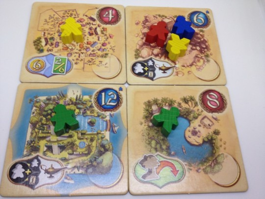 Five Tribes Meeple Movement Before Movement