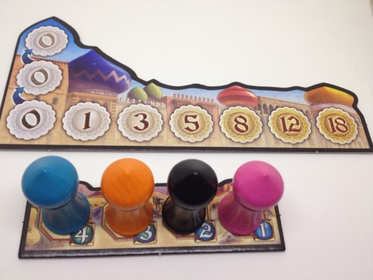 Five Tribes Turn Order
