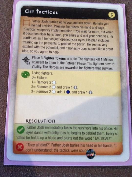 Myth Mission Card