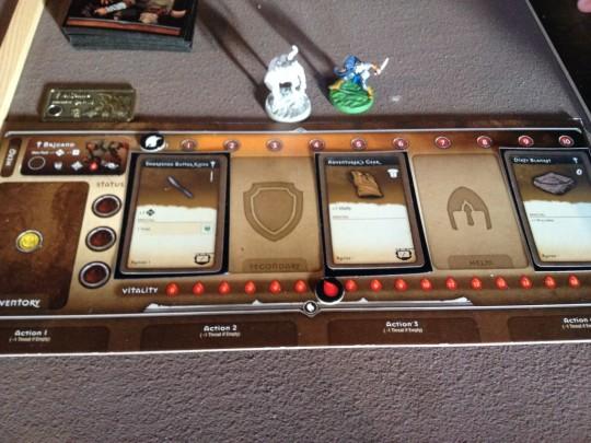 Myth Player Board