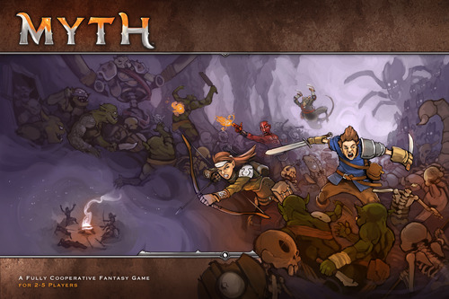 myth board game how to play