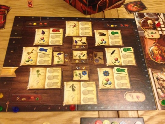 Alchemists Board