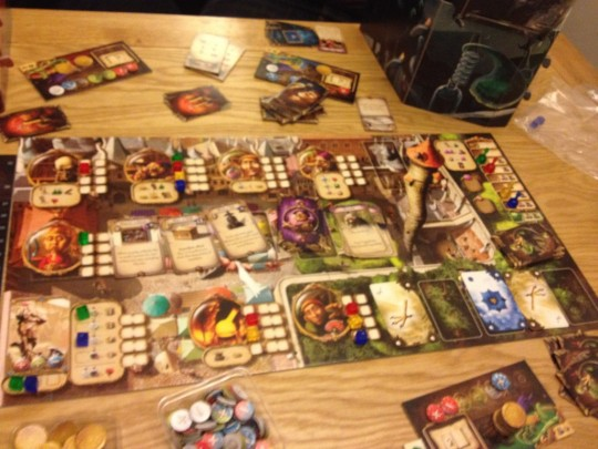 Alchemists Main Board