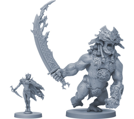 Blood Rage Miniatures