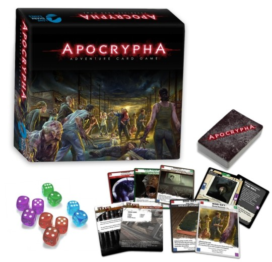 The Apocrypha Adventure Card Game Contents