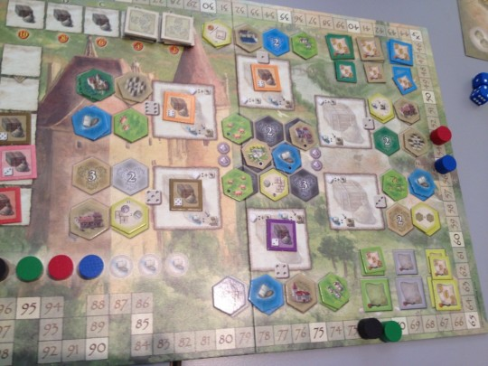 The Castles of Burgundy Main Board
