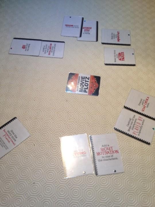 Movie Plotz Cards